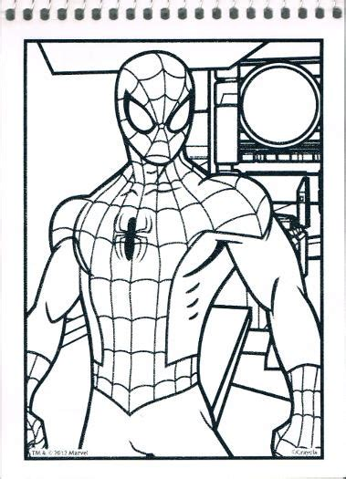 crayola giant coloring pages ultimate spider man spiderfan org comics ultimate spider man color wonder