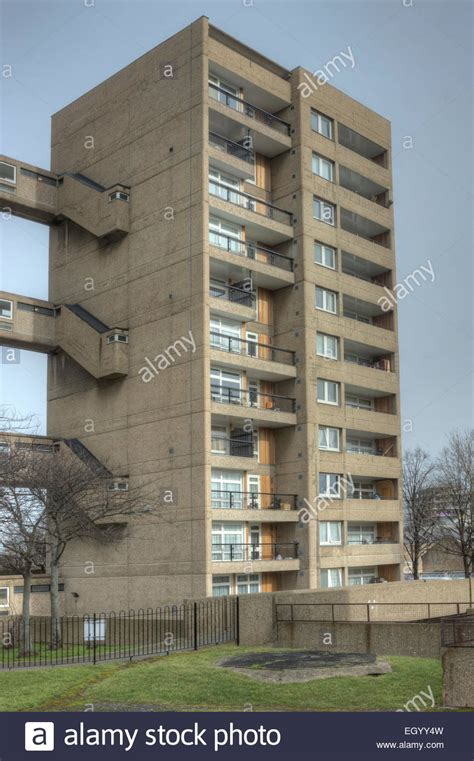 buy council house london carradale house poplar london brutalist tower block council estate stock photo