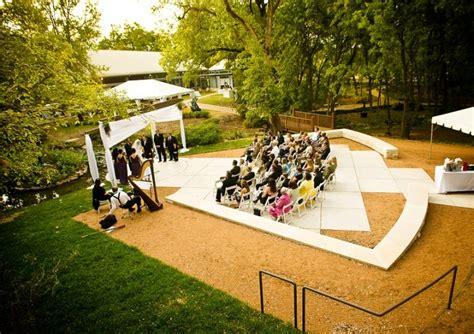 Umlauf Sculpture Garden Wedding by Venue Spotlight Umlauf Scuplture Garden The Simplifiers