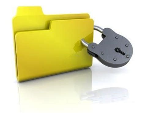 how to lock a folder with password protection without any
