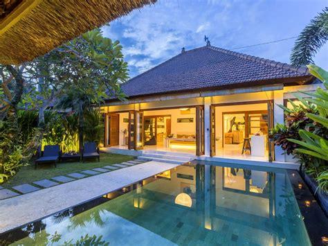 bedroom villa  seminyak bali  private pool kuta