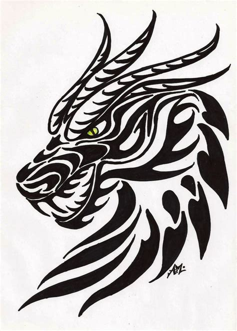 free dragon tattoo designs to print belgabad by moonlightdarkangel on deviantart dragons