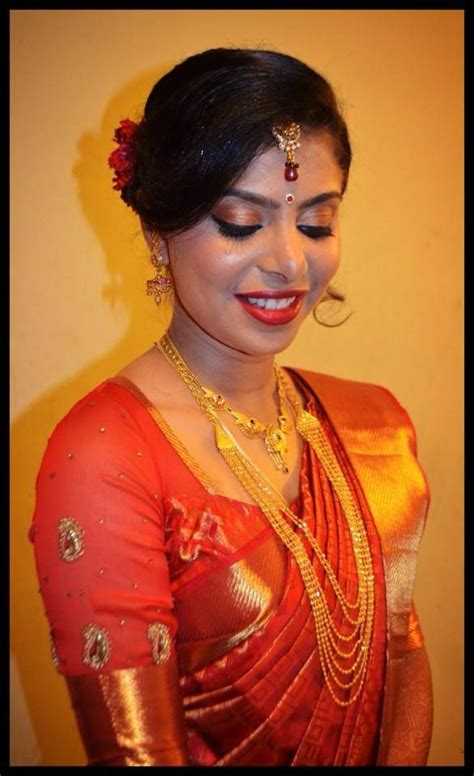 hairstyles for south indian reception indian bride s reception hairstyle by swank studio