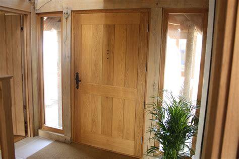 Oak Front Doors Oak Front Door Boarded Peacock Joinery