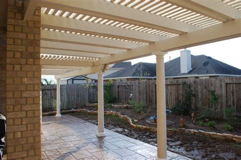 metal awnings houston aluminum patio covers houston patio covers in houston san