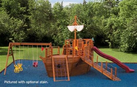wooden boat swing set pdf pirate ship outdoor playset plans wooden boat building