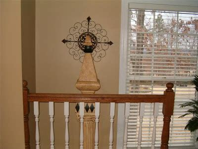 restaining banister rail polyshades stain project southern hospitality