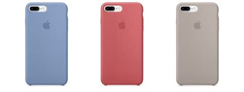 Iphone 7 Leather Berry New Color apple updates iphone 7 silicone leather cases with new