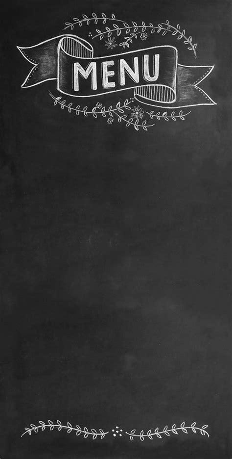 design menu sign wedding chalkboard sign large chic menu message board 6