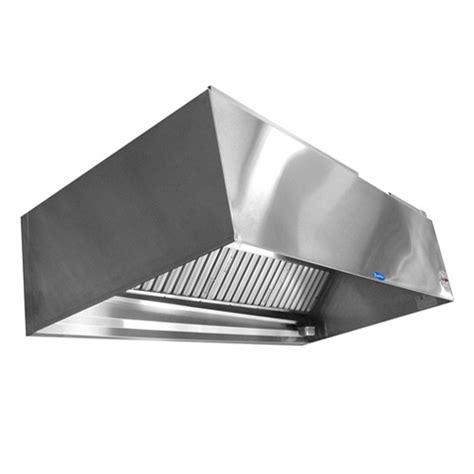 stainless steel kitchen exhaust hoods commercial range exhaust 48 quot wx6 ft