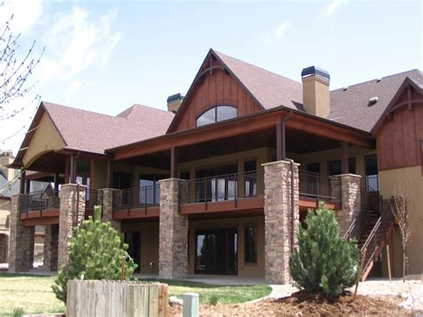 mountainside house plans mountain house plans with walkout basement mountain ranch