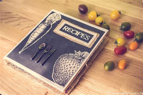 recipe of books my personal diy recipe book the creative studio