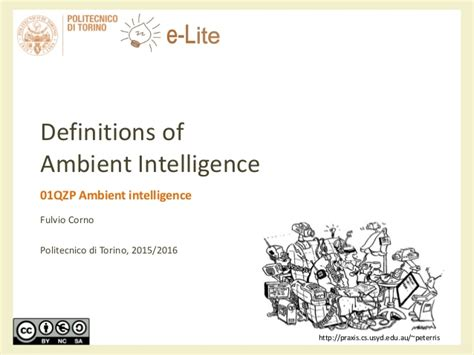 ambiance definition definition of ambient intelligence