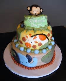 jungle baby shower cakes custom cakes by julie jungle baby shower cake
