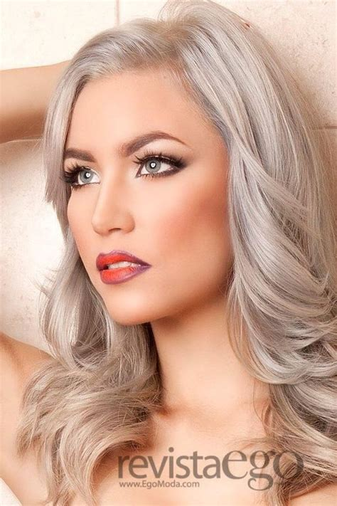 silvery blonde hair color silver highlights like this color to highlight my light