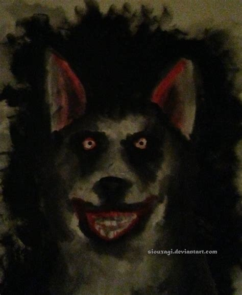 The Story Of Dogs with human teeth creepypasta