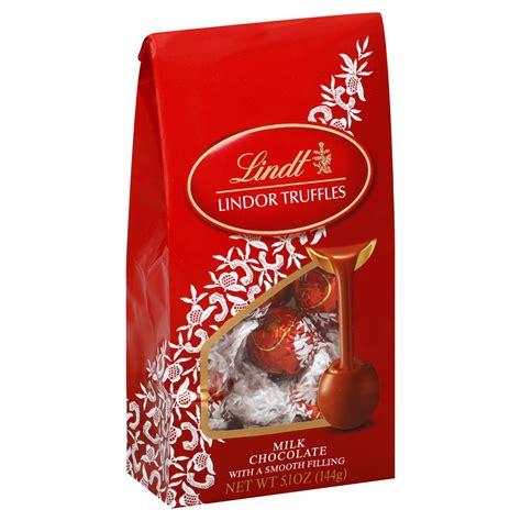 lindt lindor truffles milk chocolate 5 1 oz 144 g