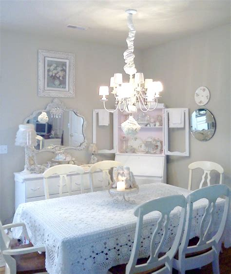 25 Shabby Chic Style Dining Room Design Ideas Decoration Chic Dining Room Ideas