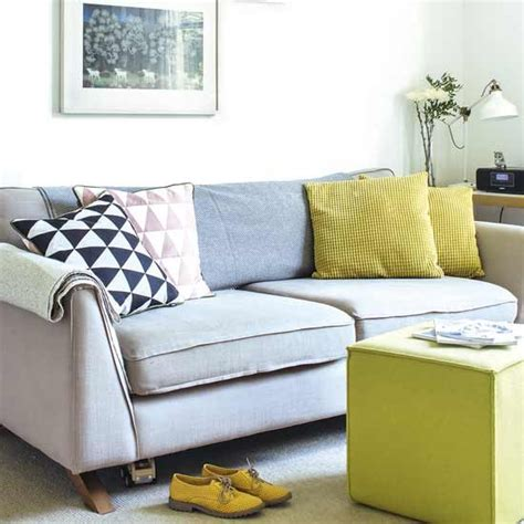 cushions for grey sofa grey sofa with bright cushions housetohome co uk