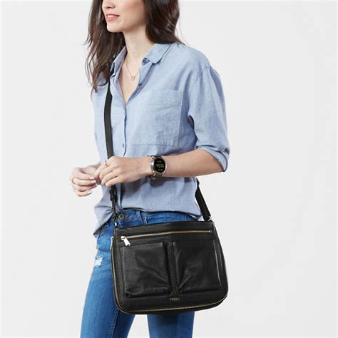 Fossil Piper piper small crossbody fossil