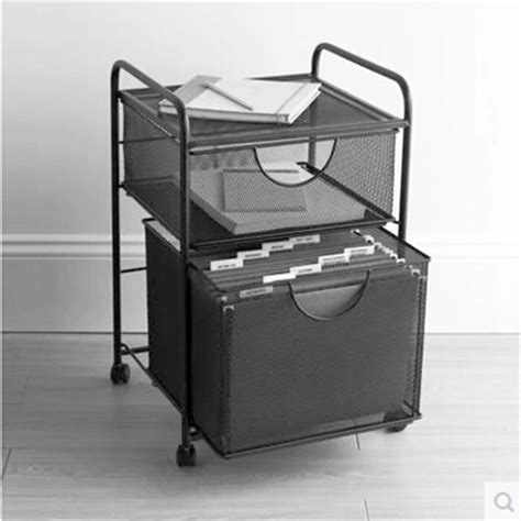6 drawer mesh rolling cart mesh hanging file and storage cart compact mobile file