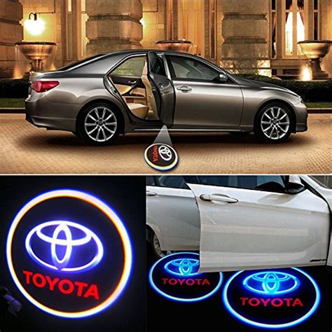 Logo Projection Led Toyota sunsbell toyota logo car door projection led welcome light