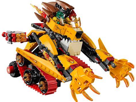 Wars Lava L by Lego Chima 70144 Di Fuoco Di Laval Mattonito