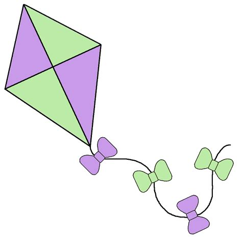 printable clip art clip art image of kite clipart best