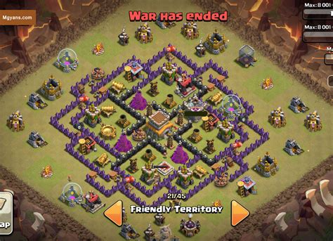 clash of clans best th 8 trophyclan war base th8 4 top 3 th8 4 mortar war base designs coc