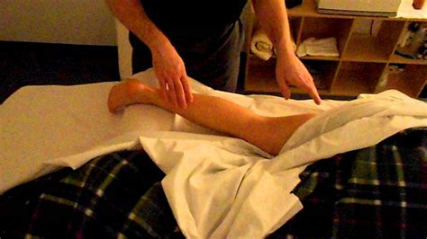 no draping massage video massage draping technique for the leg prone youtube