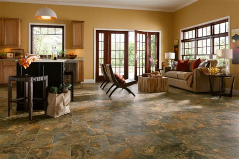 armstrong alterna reserve allegheny slate copper mountain 16 quot x 16 quot luxury vinyl tile d4332