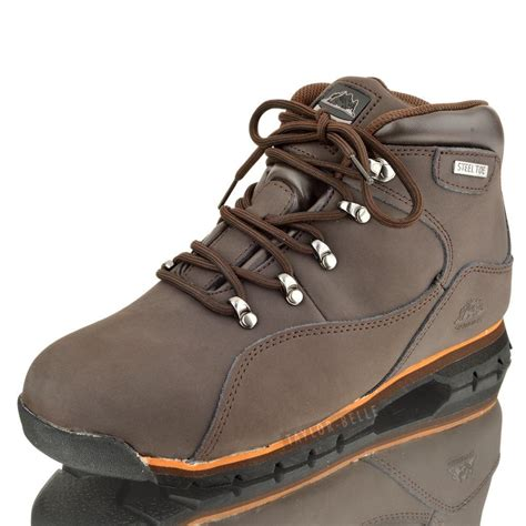 mens steel toe hiking boots steel toe cap safety ankle boots hiking outdoor