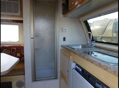 travel trailer bathroom starling travel 187 the t b s floorplan a teardrop with a