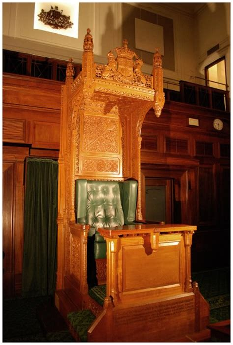 name of speaker of the house speaker s chair 1999 0430 museum of australian democracy collection