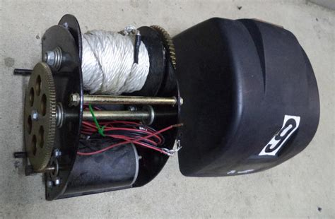 electric boat anchor winch ebay 1 used marine boat anchor electric winch 12 volt
