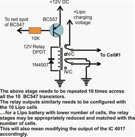 lipo battery charger circuit diagram lipo battery balance charger circuit