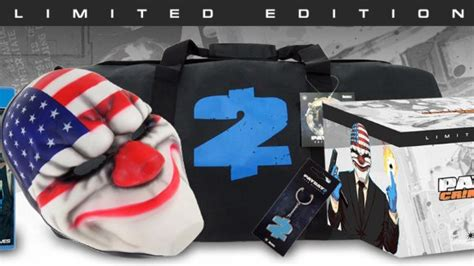 Kaset Ps4 Payday 2 Crimewave Edition payday 2 crimewave edition gets limited edition for ps4 xbox one the entertainment depot