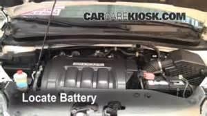 2007 Honda Odyssey Battery Battery Replacement 2005 2010 Honda Odyssey