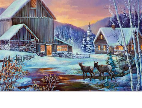 winter cabin indoor outdoor winter cabin insert doormat 18x30