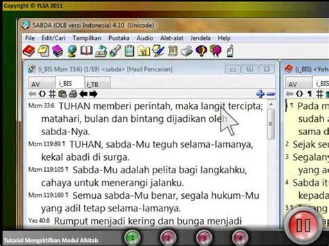 modul tutorial adalah tutorial sabda galeri sabda net