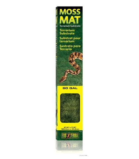 Exo Terra Moss Mat by Exo Terra Moss Mat Moomoopets Sg Singapore S Pet