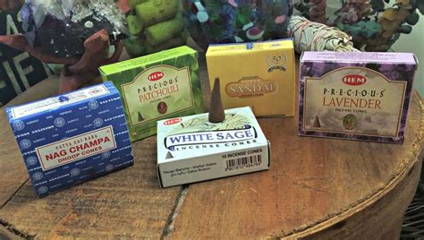 Incense Cone Assorted incense cones to relax unwind release in assorted fragrances