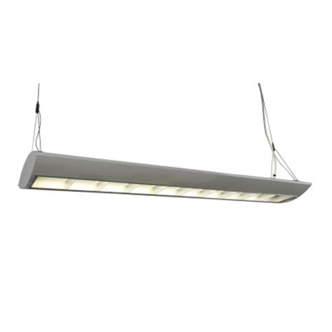 Direct Indirect Lighting Fixtures 2 L T5ho Direct Indirect Lighting Silver Finish Relightdepot