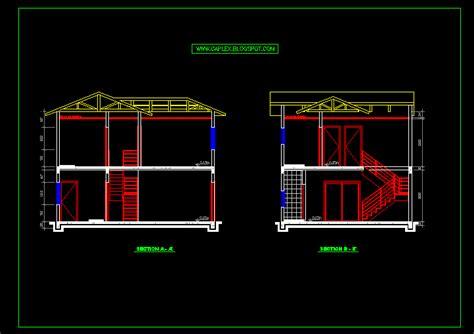 desain rumah autocad denah new desain rumah format autocad