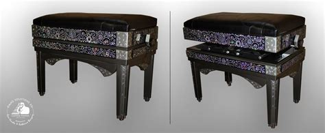 custom piano bench hand crafted custom piano bench by piano solutions xxi