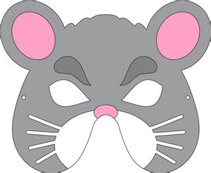 printable mouse mask face i think i m in love with this shape from the silhouette