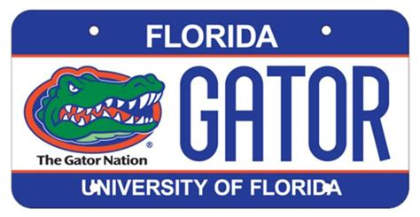 Gainesville Tag Office by Uf License Plate Of Florida Alumni Association