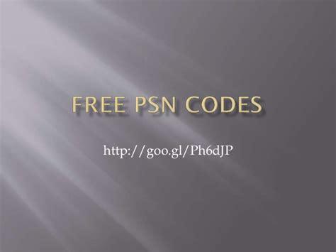 Free Psn Gift Card Codes No Survey - free psn codes no survey