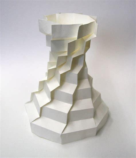Origami Paper Sculpture - hi tech 3d origami by jun mitani spoon tamago