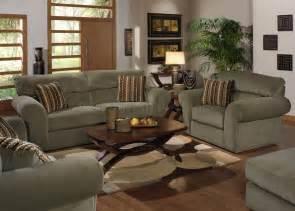 Sofa Set For Living Room Sage Fabric Transitional Sofa Amp Loveseat Set W Options